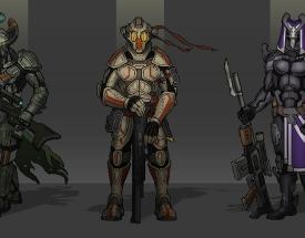 sci-fi-soldiers-concept-bounty-hunters-art-concept-art-design-roughs