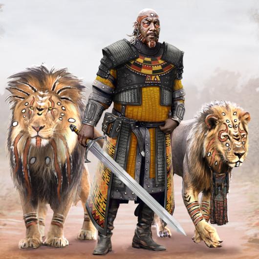 African Fantasy Warrior