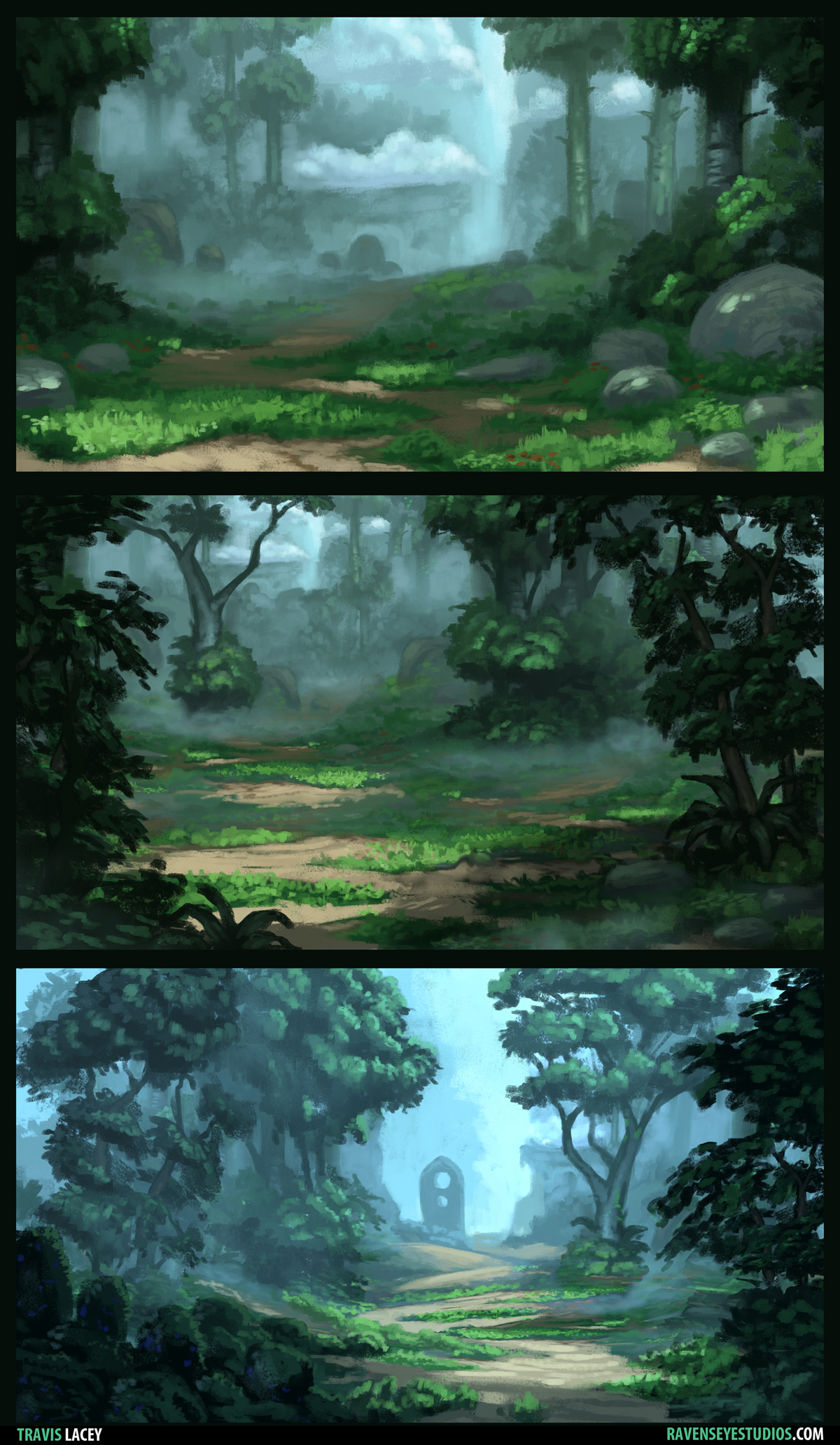Forest Sketches