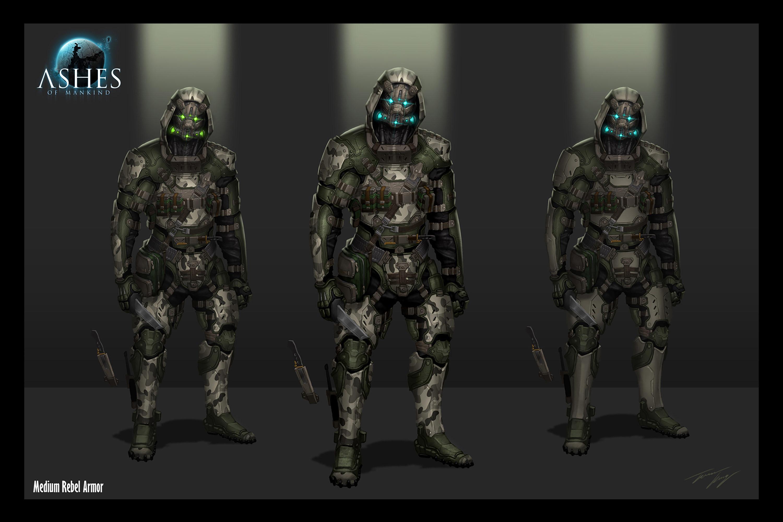 Medium Rebel Armor