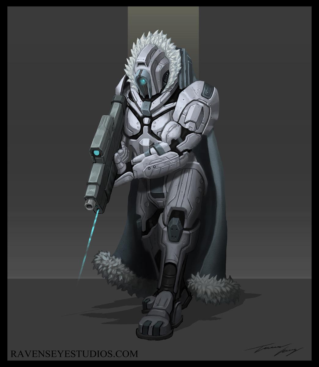 Sci Fi Bounty Hunter
