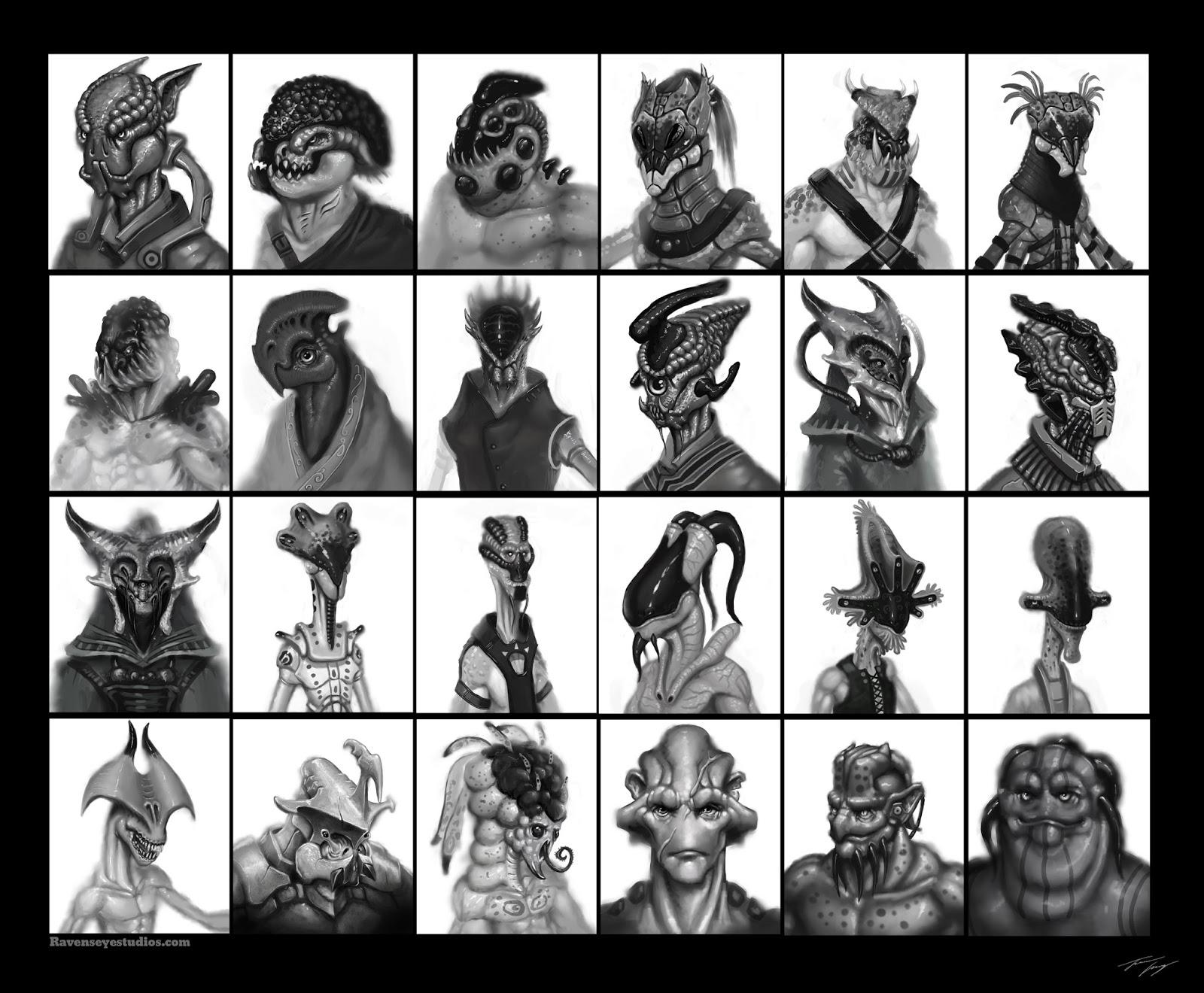 Alien Thumbnails