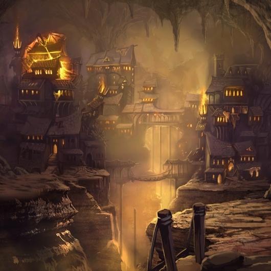 Elven City Landscape