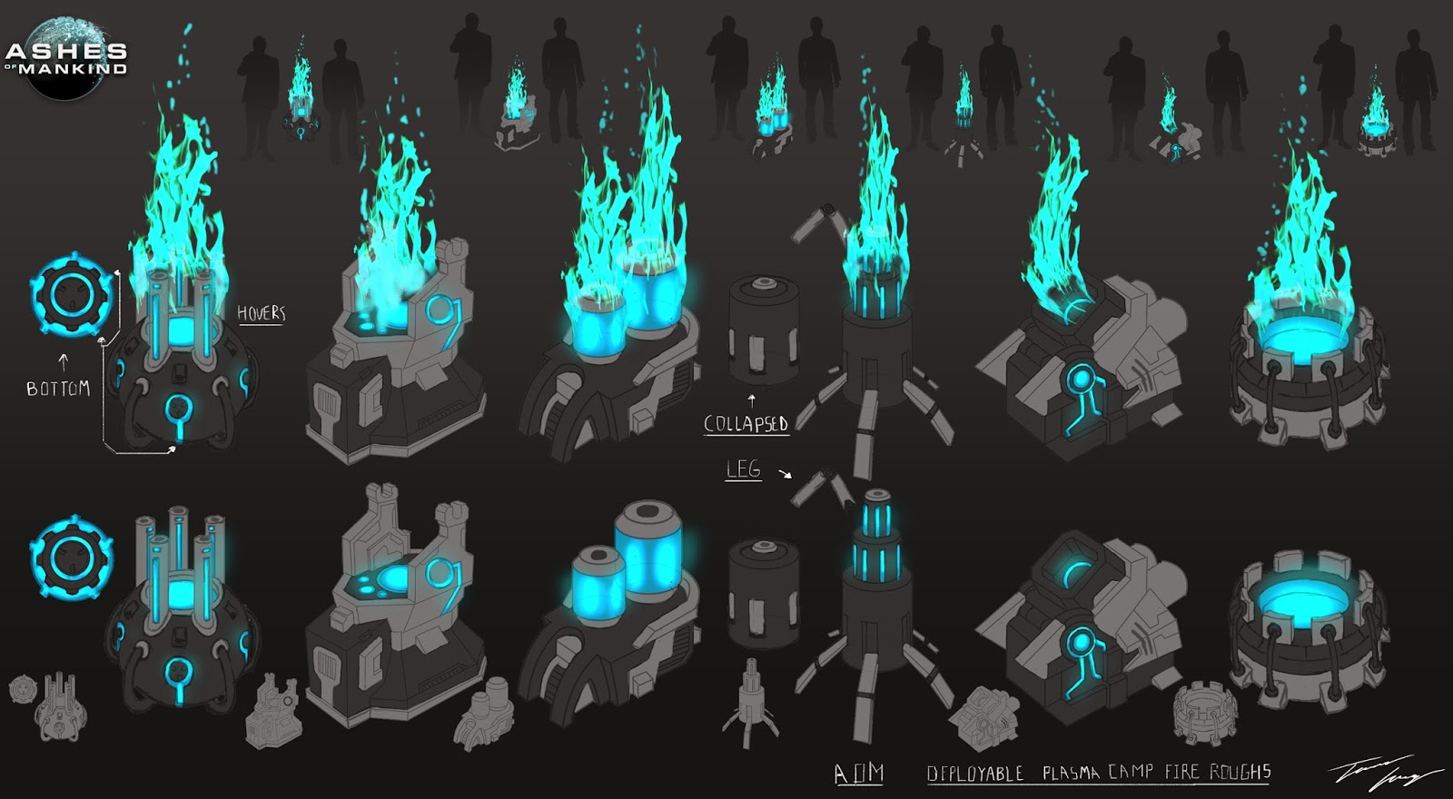 plasma fire web