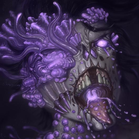 Zombie Mutation Horror Concept